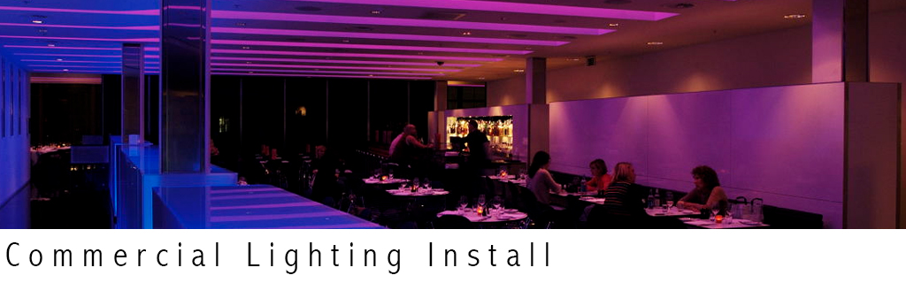 Commercial Lighting - Cableguy.ie